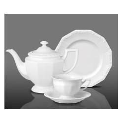 Serwis do herbaty dla 6 osób Maria Biała