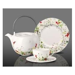 Serwis do herbaty dla 6 osób Tajemniczy Ogród
