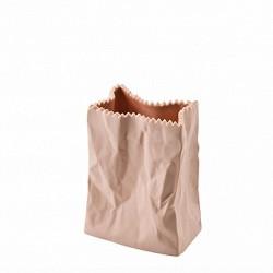 Wazon 10 cm Paper Bag brzoskwiniowy