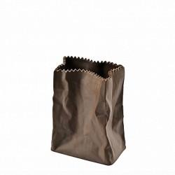 Wazon 10 cm Paper Bag czekoladowy