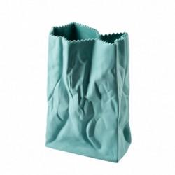 Wazon 18 cm Paper Bag miętowy