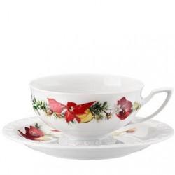 Filiżanka do herbaty Maria Poinsecja