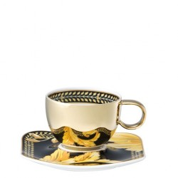 Filiżanka do espresso Versace Vanity Gold