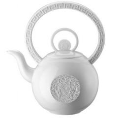 Dzbanek do herbaty Versace La Medusa White