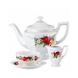 Serwis do herbaty dla 6 osób Maria Poinsecja