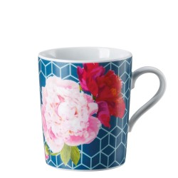 Kubek Tric Blue floral