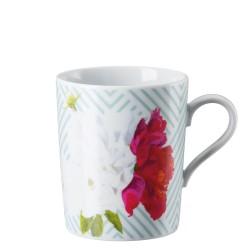 Kubek Tric Celadon floral