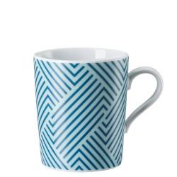 Kubek Tric Pattern blue