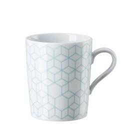 Kubek Tric Pattern celadon