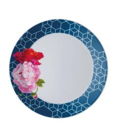 Talerz 22 cm Tric Blue floral
