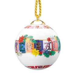 Bombka Versace Holiday Alphabet