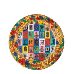 Talerz 18 cm Versace Holiday Alphabet