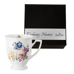 Kubek mały Maria Flowers motyw 2  w pudełku z dedykacją