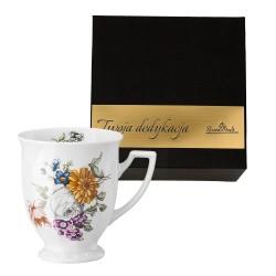 Kubek mały Maria Flowers motyw 3  w pudełku z dedykacją