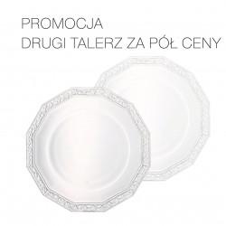 PROMOCJA- DRUGI ZA PÓŁ CENY: Talerz do ciasta 32 cm Maria Kryształowa