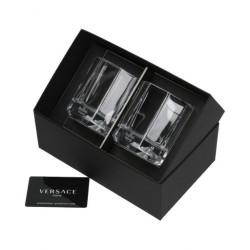 Zestaw 2 szklanek do whisky Versace Crystal Lumiere