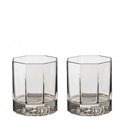 Zestaw 2 szklanek do whisky Versace Crystal Lumiere Hase