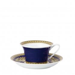 Filiżanka do herbaty Versace Medusa Blue