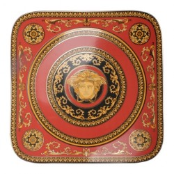 Podtalerz kwadratowy 33 cm Versace Medusa