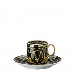 Filiżanka do espresso Versace Virtus Gala Black