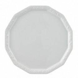 Talerz do ciasta lub pizzy 32 cm Maria Biała